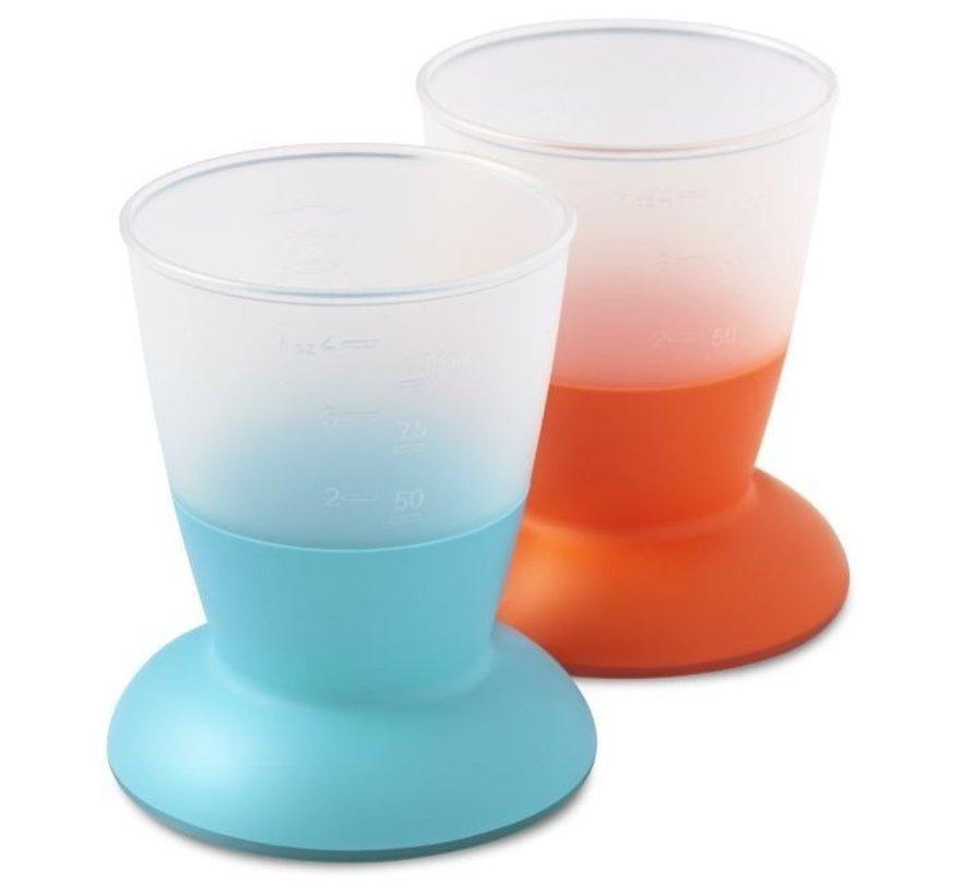 BabyBjorn Bekerset Turquoise/Oranje