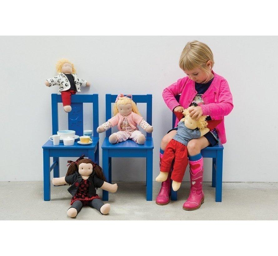 Peppa aankleedkleertjes Girl voor 40cm poppen