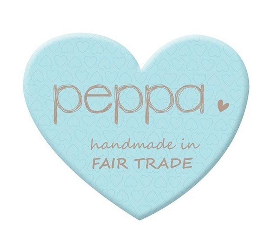 Peppa Hugo Organic Antraciet/Orange