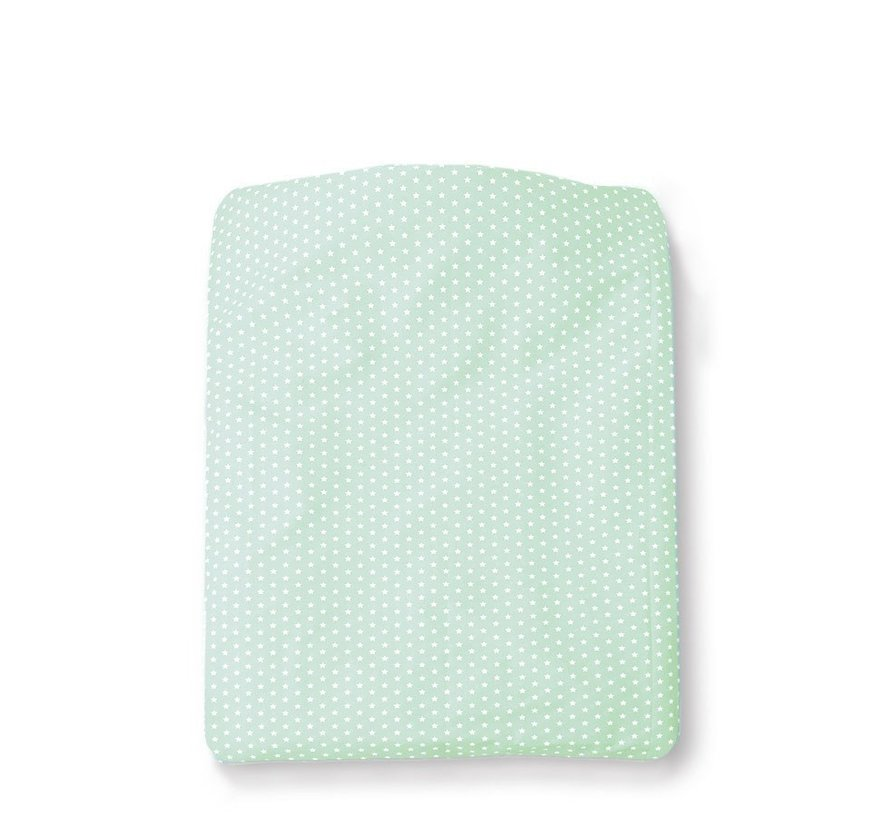 Cottonbaby Dekenhoes Sterretjes Mint