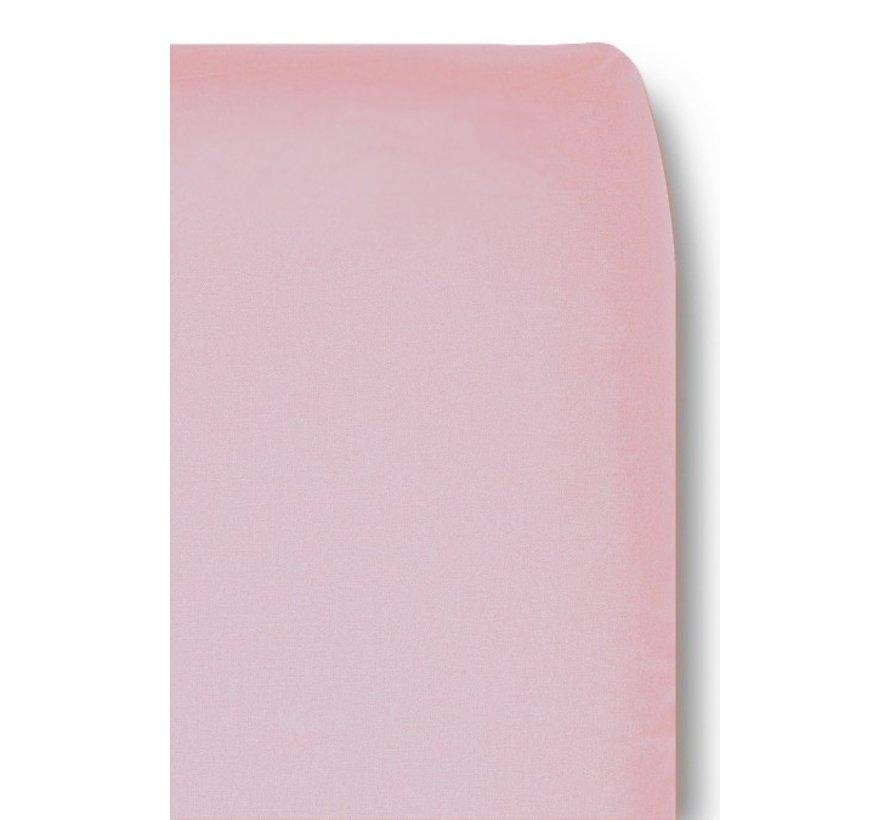 Cottonbaby Hoeslaken Wieg Pastel Zalmroze