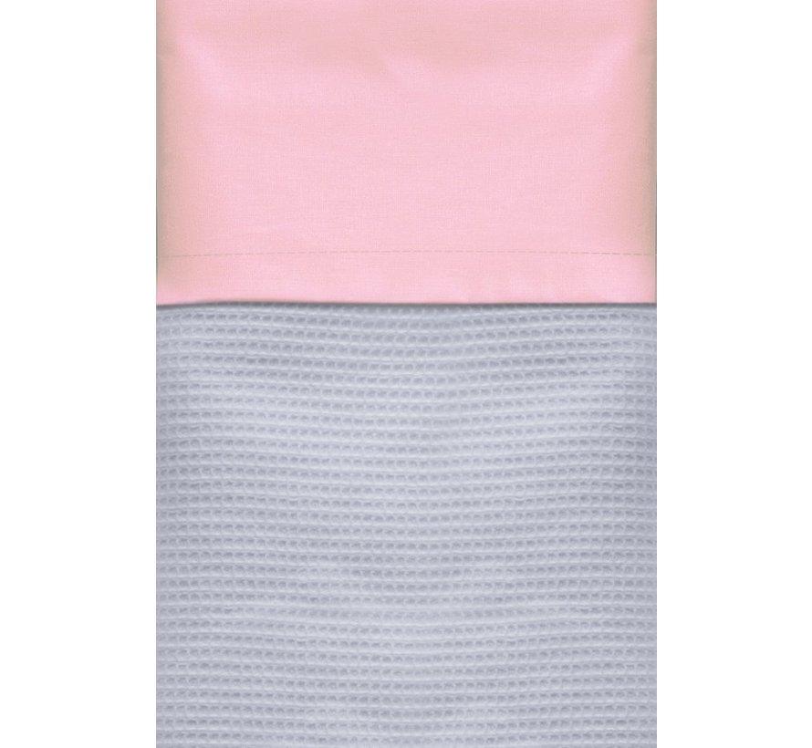 Cottonbaby Wieglaken pastel Zalmroze