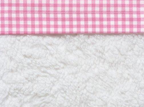 Cottonbaby Cottonbaby Wieglaken Ruit Roze