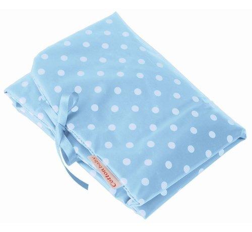 Cottonbaby Cottonbaby Verschoonmatje Lichtblauw