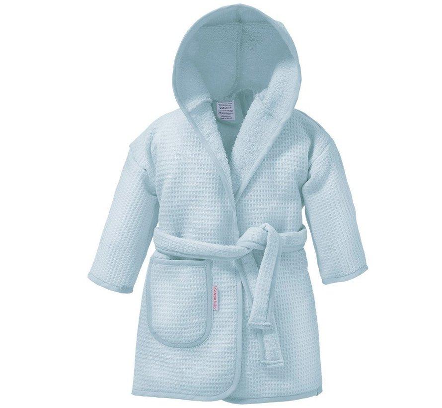 Cottonbaby badjas wafelstof Lichtblauw | baby badjas