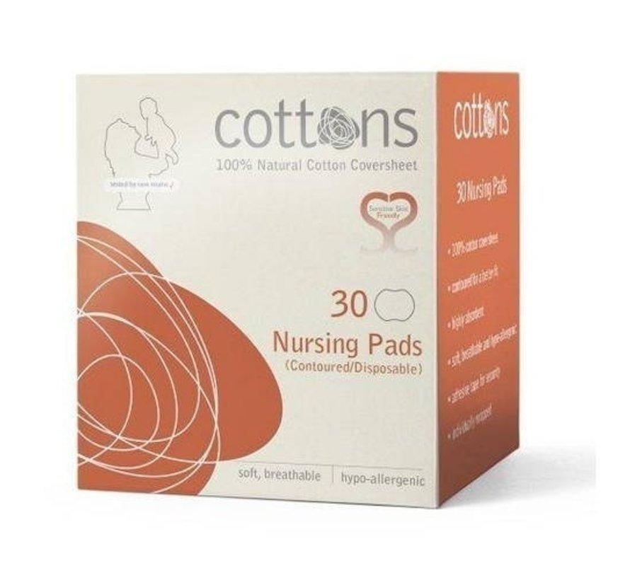 Cottons - Zoogcompressen - 30 stuks