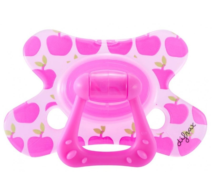 Difrax Fopspeen - Dental - 12M+ Pretty Pink