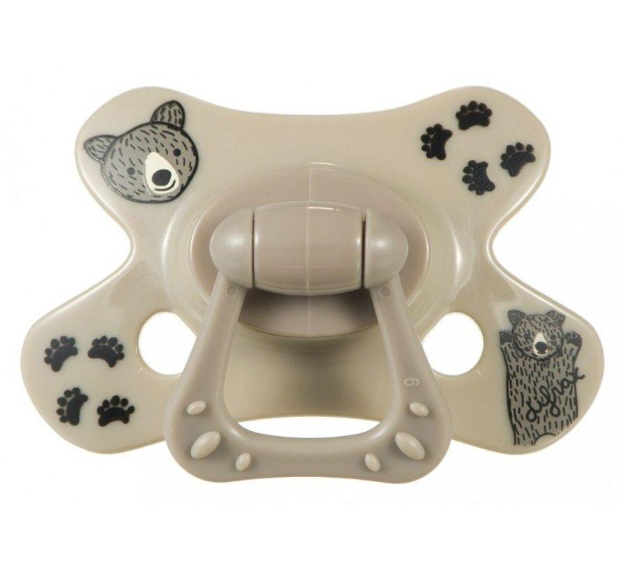 Difrax Fopspeen - Dental - 6M+ Brownie