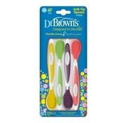 Dr Browns Soft-tip Lepeltjes 4-pack