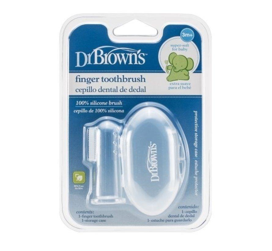 Dr. Browns Vingertop Tandenborstel
