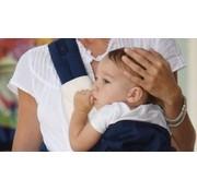 Ergobaby Ergobaby Teething Pad & Bib 360 Natural | Beschermer voor 360 draagzak