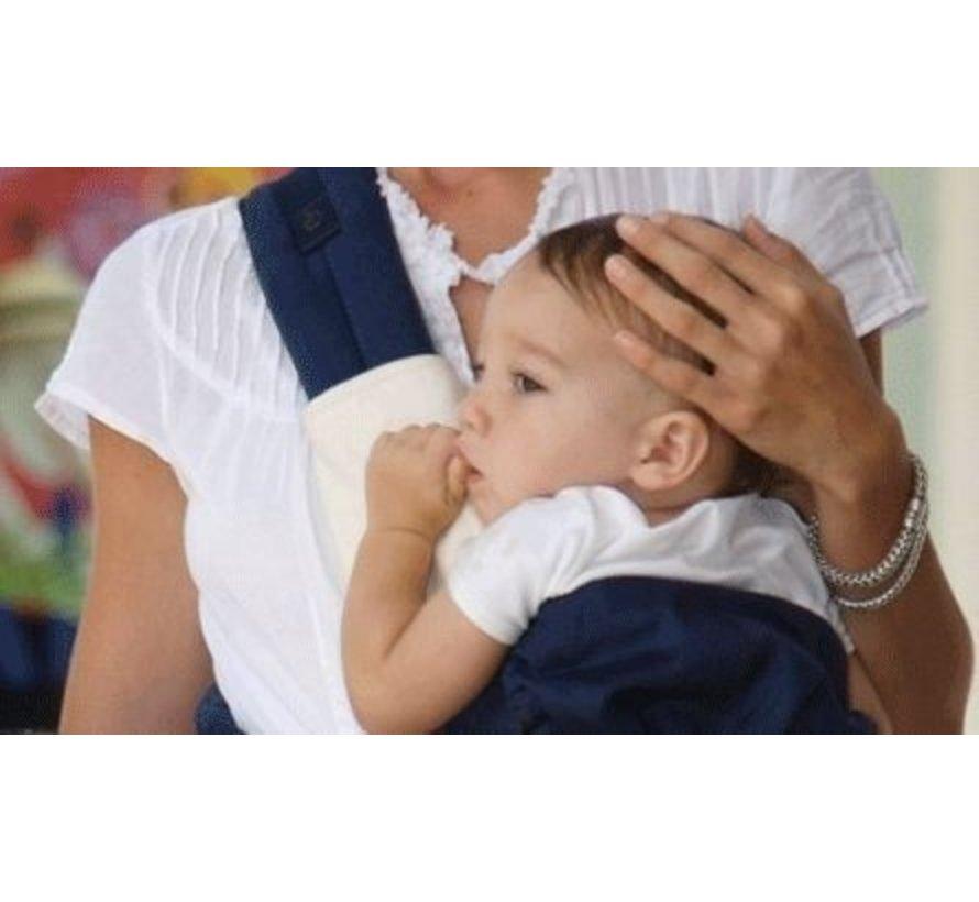 Ergobaby Teething Pad & Bib 360 Natural | Beschermer voor 360 draagzak