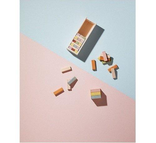 Kid's concept Houten blokjes in houten doos