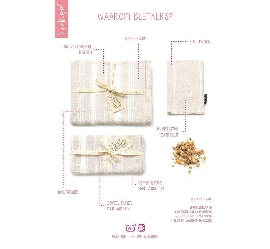 KipKep | Blenker Washand Roze