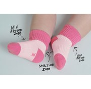 KipKep KipKep babysokjes | Blijf-Sokjes Lila Stip
