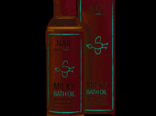 Naif Naif - Baby milky bath oil - 100ml