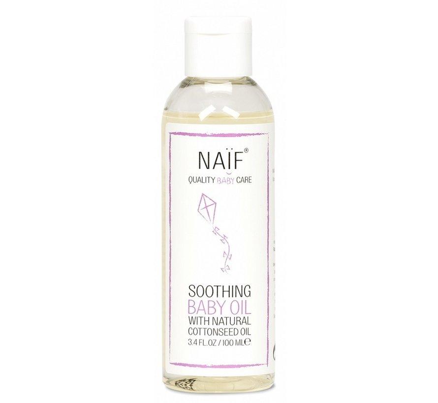 Naif - Verzachtende baby olie - 100ml