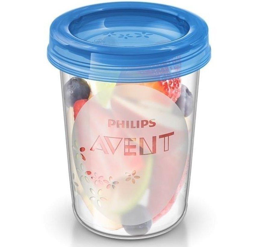 Philips Avent Bewaarbekers 240ml SCF639/05