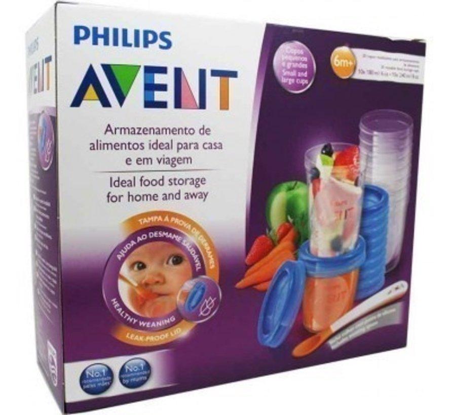 Philips Avent Bewaarbekers voor voeding SCF721/20