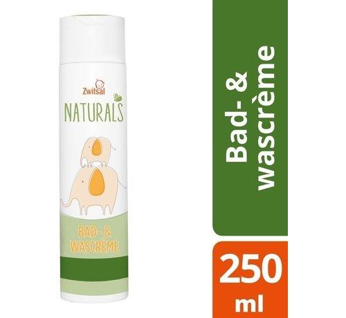Zwitsal Zwitsal - Naturals bad & wascreme - 250ml