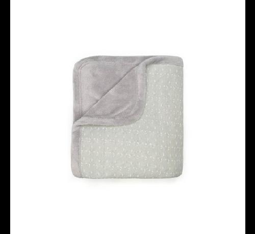 Snoozebaby Snoozebaby Wieg- en Ledikant deken   Lovely Grey
