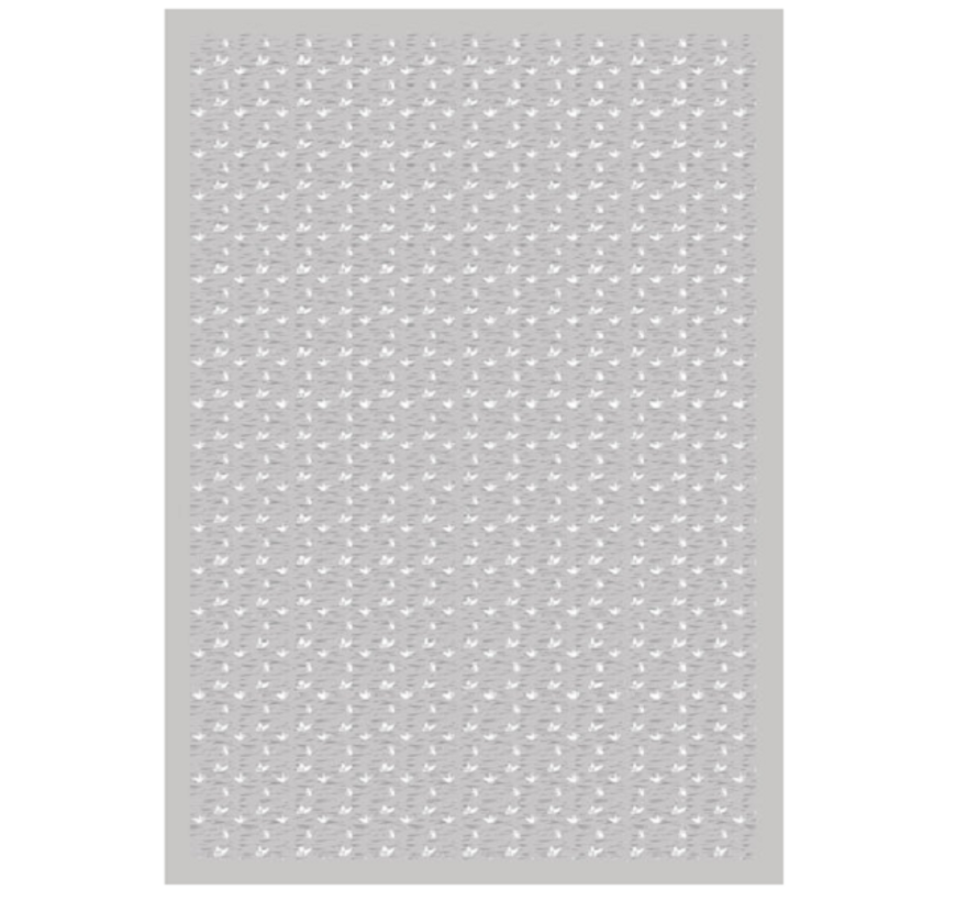 Snoozebaby Wieg- en Ledikant deken | Lovely Grey