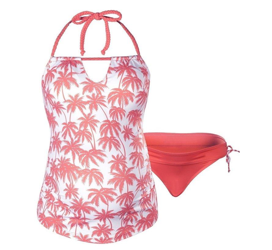 Cache Coeur Zwangerschap Tankini Bounty Coral