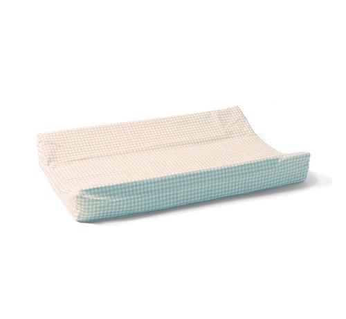Cottonbaby Cottonbaby Aankleedkussenhoes ruit