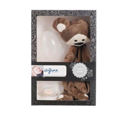 Difrax Baby Cadeauset Aap