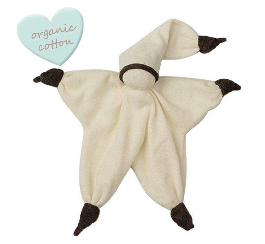 Peppa Sisco Organic knuffelpopje