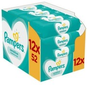 Pampers 12x52 Pampers Sensitive Babydoekjes