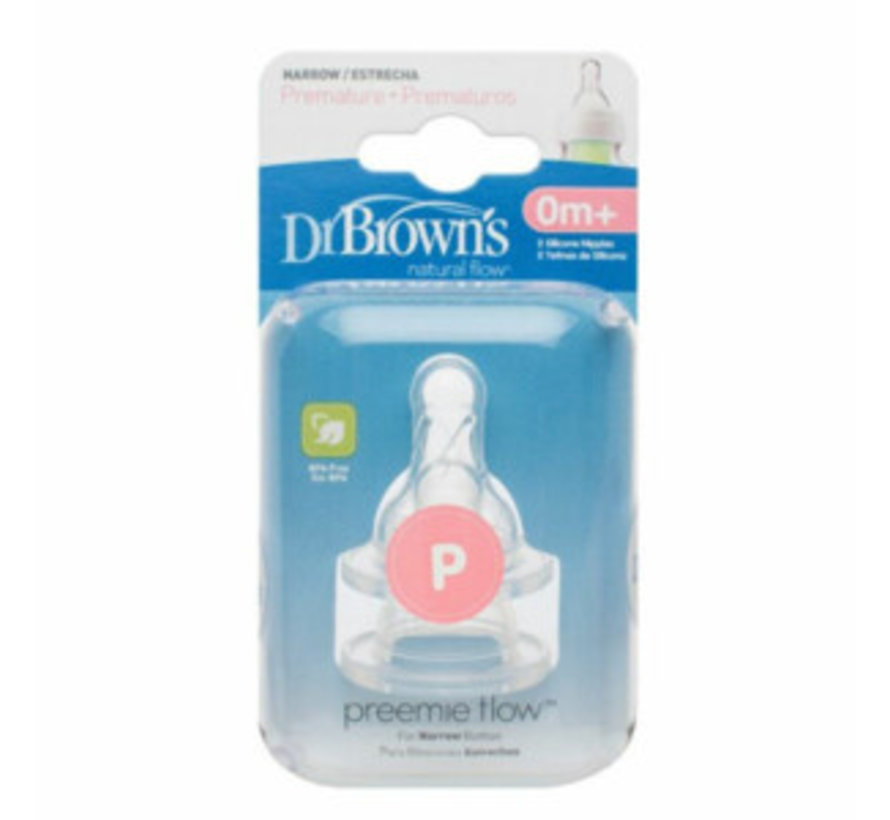 Dr Browns Speen fase 4 pap Smalle fles (9M+)
