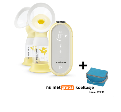 Medela Medela Freestyle Flex borstkolf - dubbele elektrische borstkolf   met GRATIS Koeltas