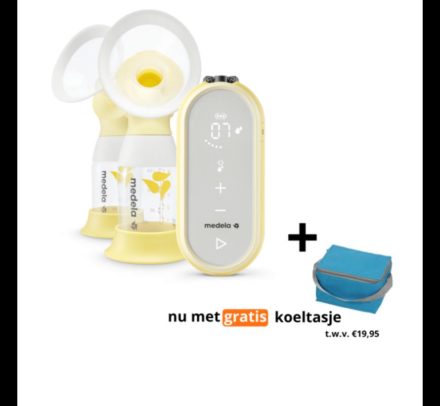 Medela Freestyle Flex borstkolf - dubbele elektrische borstkolf   met GRATIS Koeltas