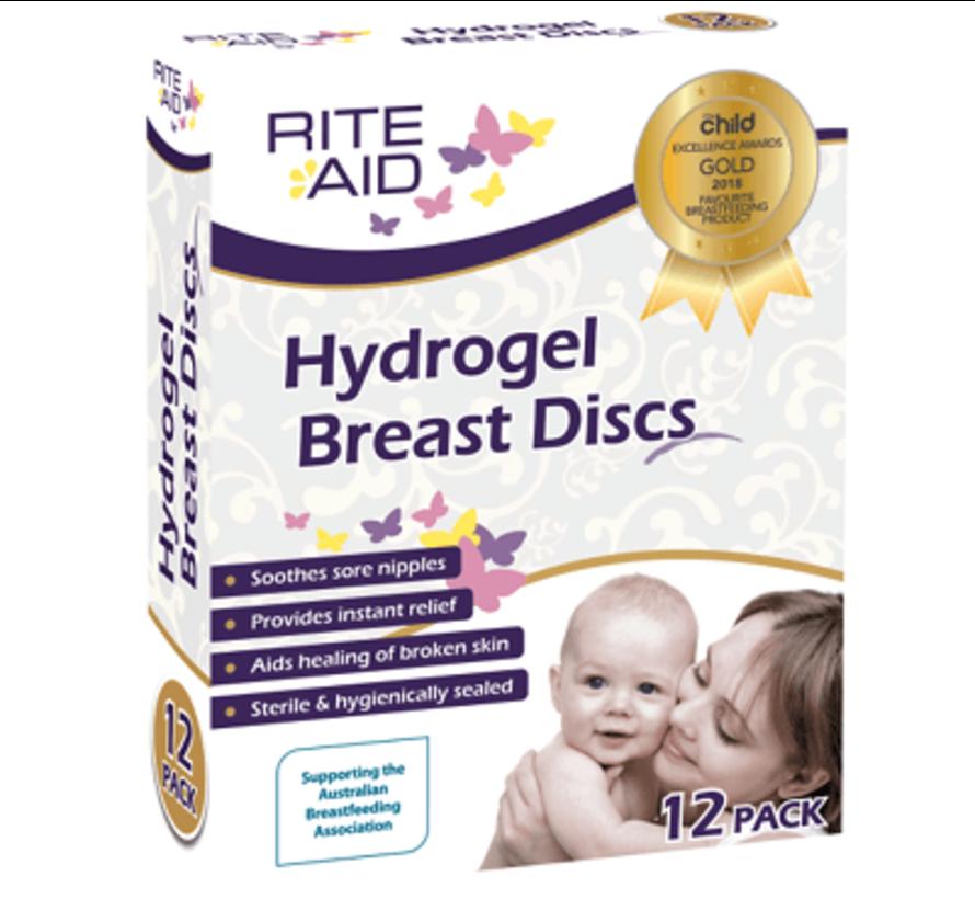 Rite Aid Hydrogel tepelverband (12 stuks)