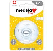 Medela Medela Baby fopspeen Soft Silicone 0-6 m transparant - Uno