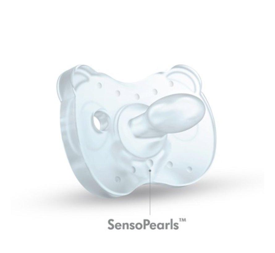 Medela Baby fopspeen Soft Silicone 0-6 m transparant - Uno