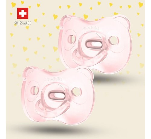 Medela Medela Baby fopspeen Soft Silicone 6-18m - Duo