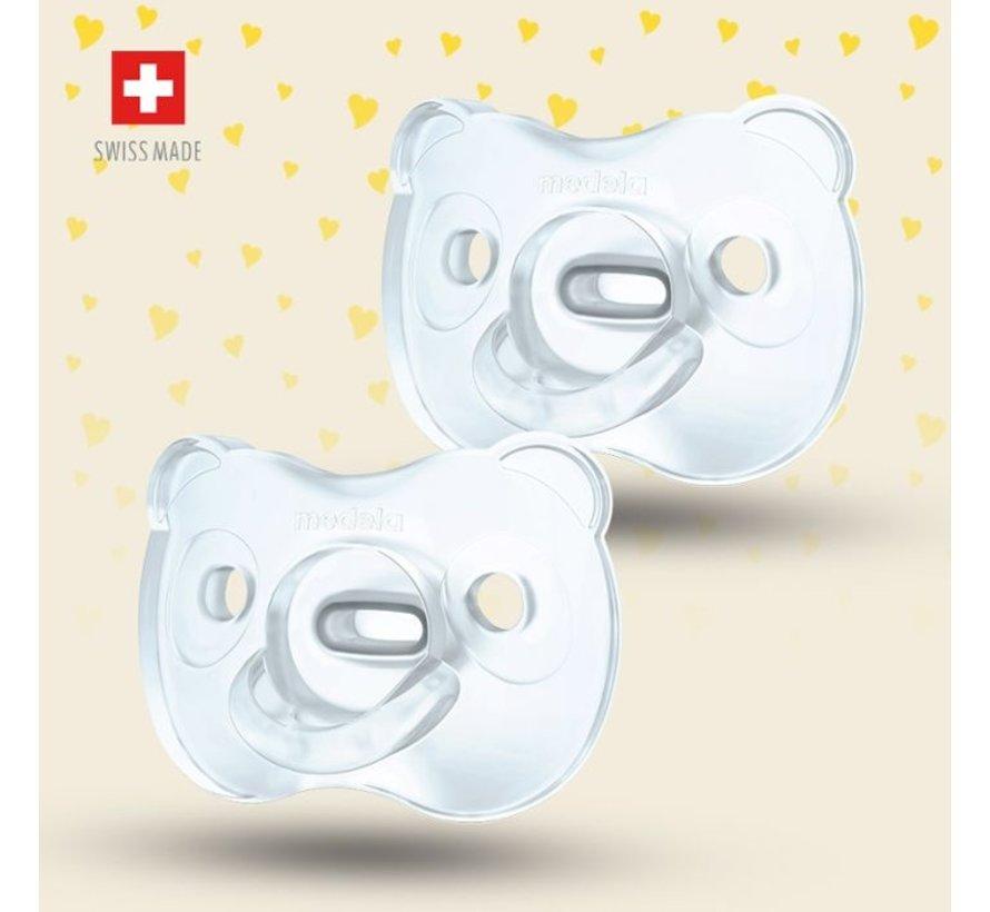 Medela Baby fopspeen Soft Silicone 6-18m - Duo
