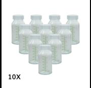 Ardo 10x Ardo Glazen flesjes 130ml