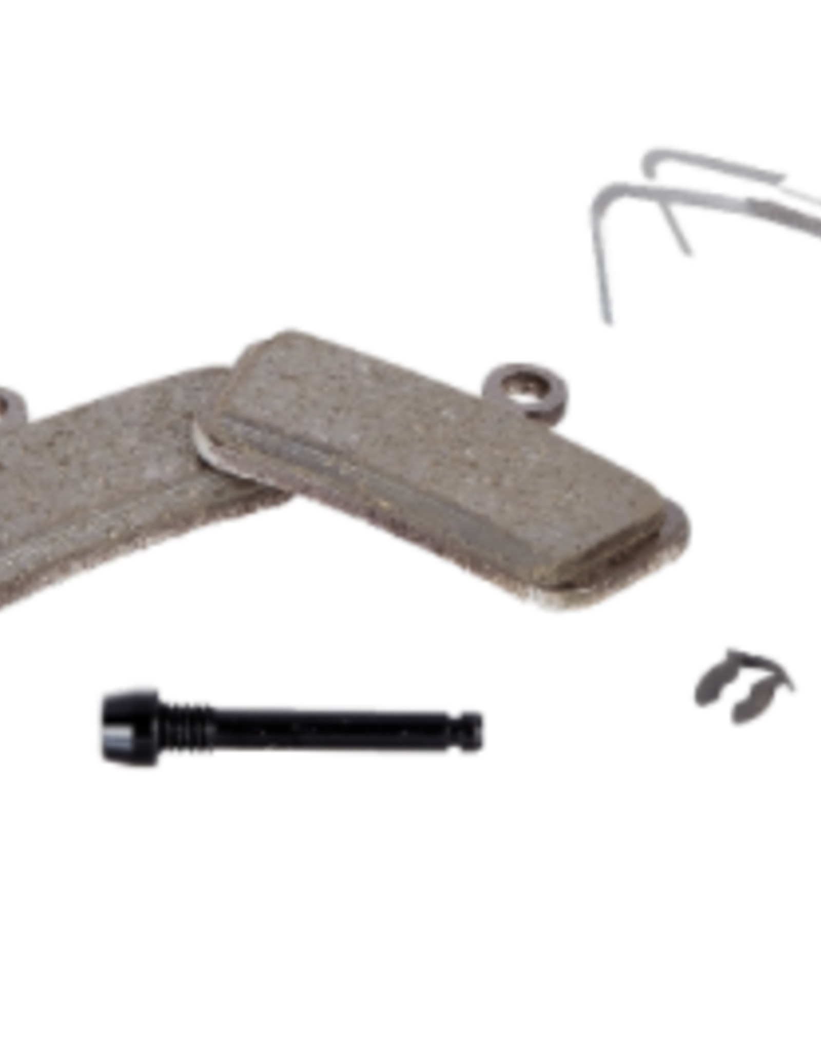 srAM SRAM Disc Brake Pads - Organic Compound, Steel Backed, Powerful, For Trail, Guide, and G2