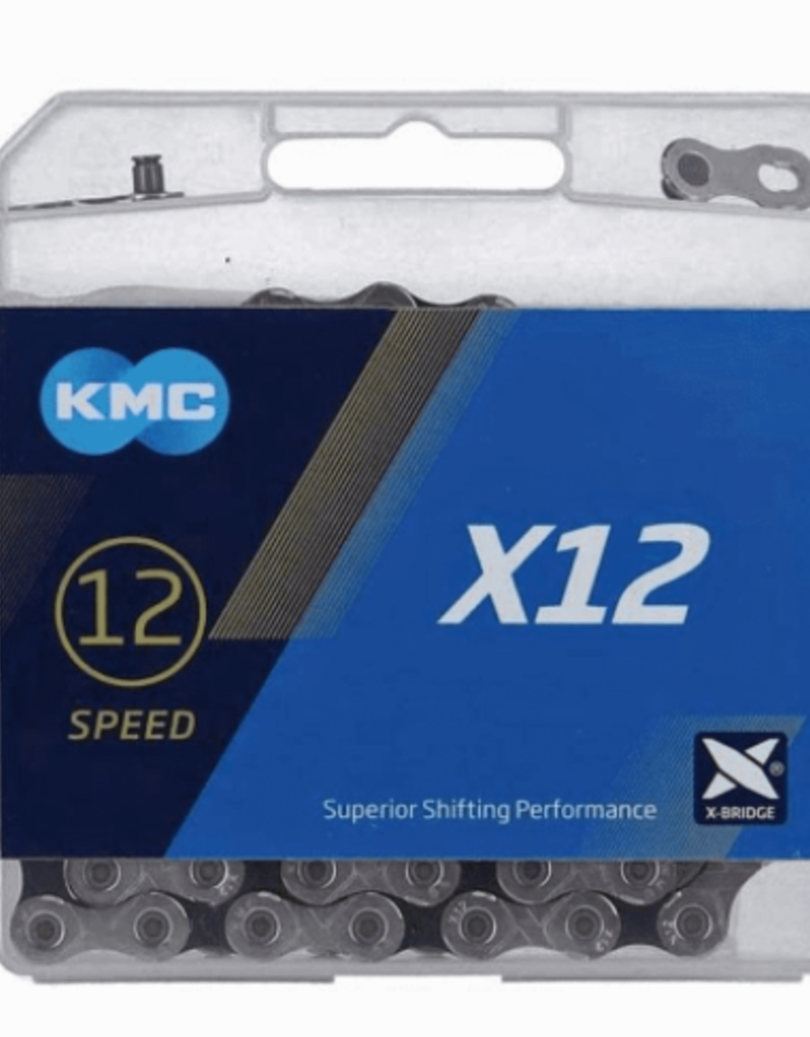 KMC KMC X12 Chain Black/ Silver