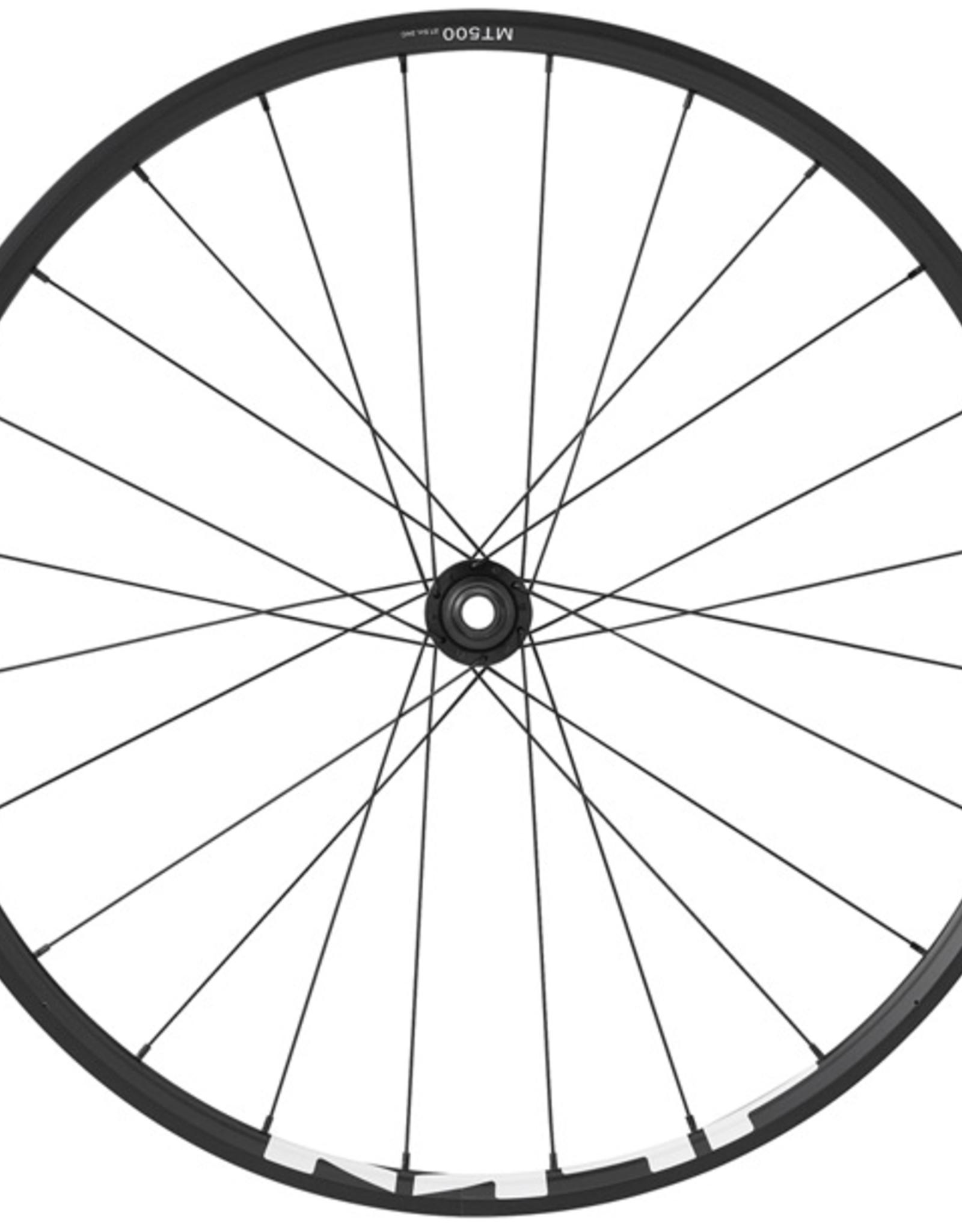Shimano Shimano WH-MT500 MTB Front Wheel, 27.5 QR Centre Lock