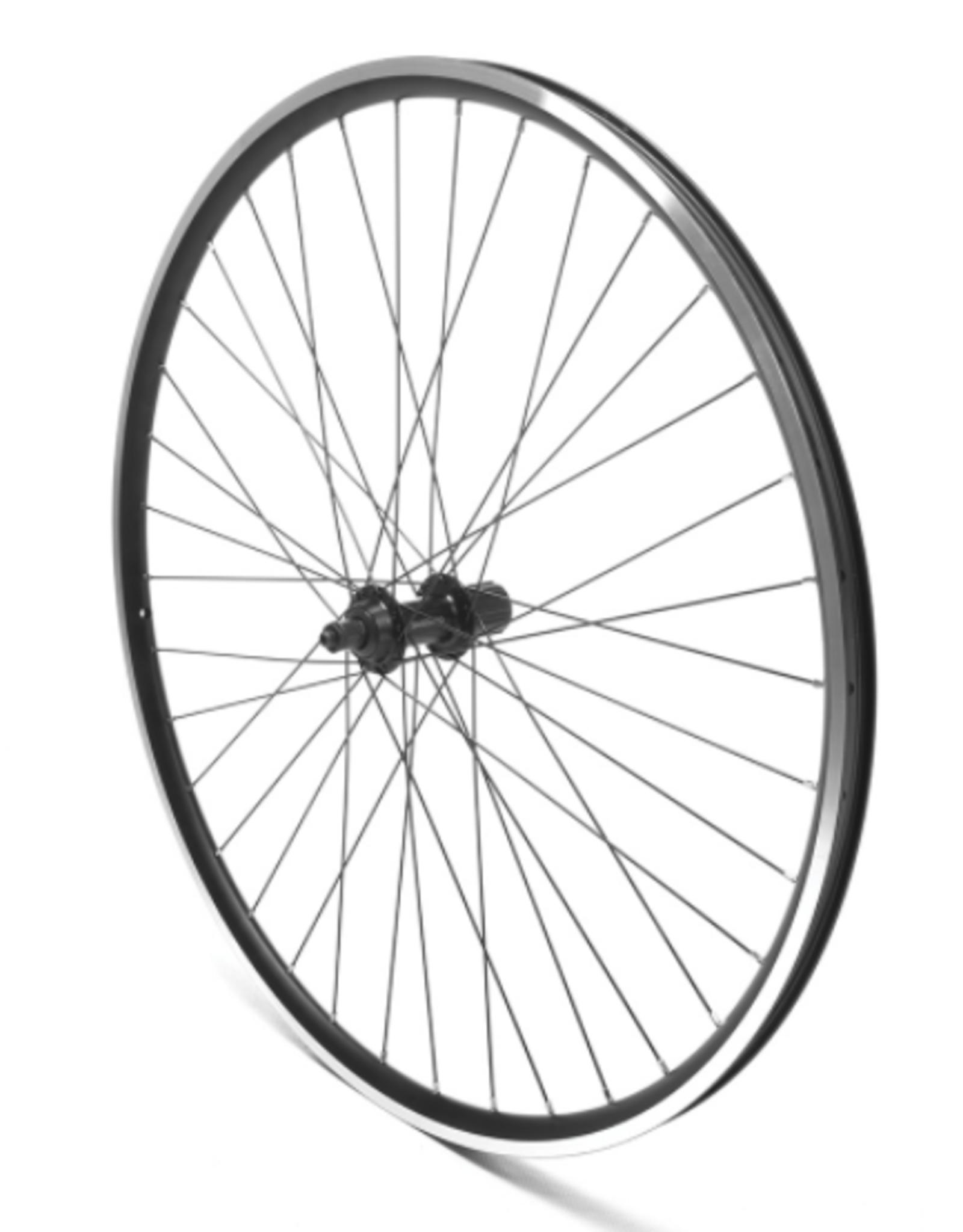 Oxford Oxford Rear Wheel 700c Hybrid, Cassette, Black, QR