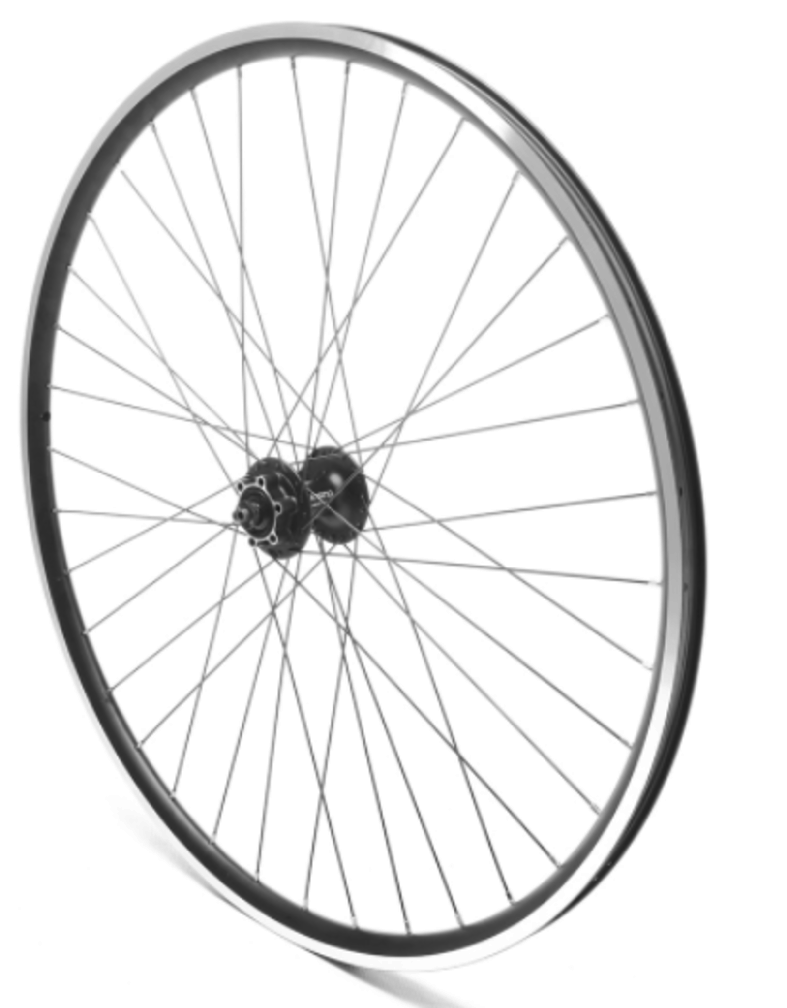 Oxford Oxford Front Wheel 700c Hybrid Black Double Wall Shimano 475