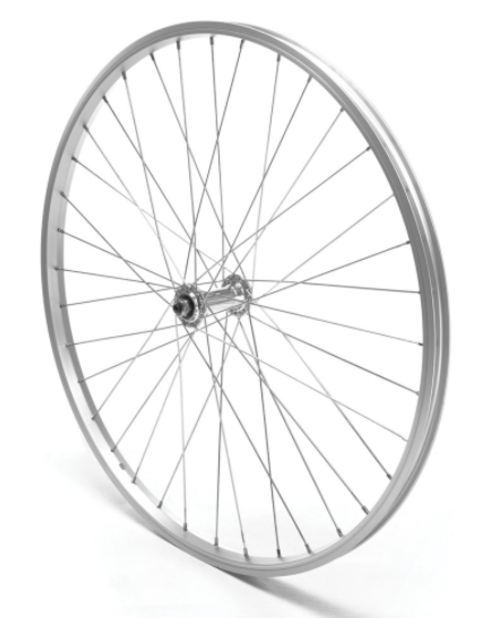 """Oxford Oxford Front Wheel 26"""" MTB Silver Single Wall Quick Release"""
