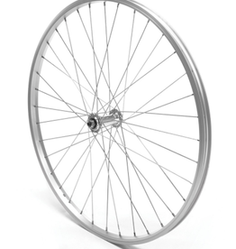 "Oxford Oxford Front Wheel 26"" MTB Silver Single Wall Quick Release"