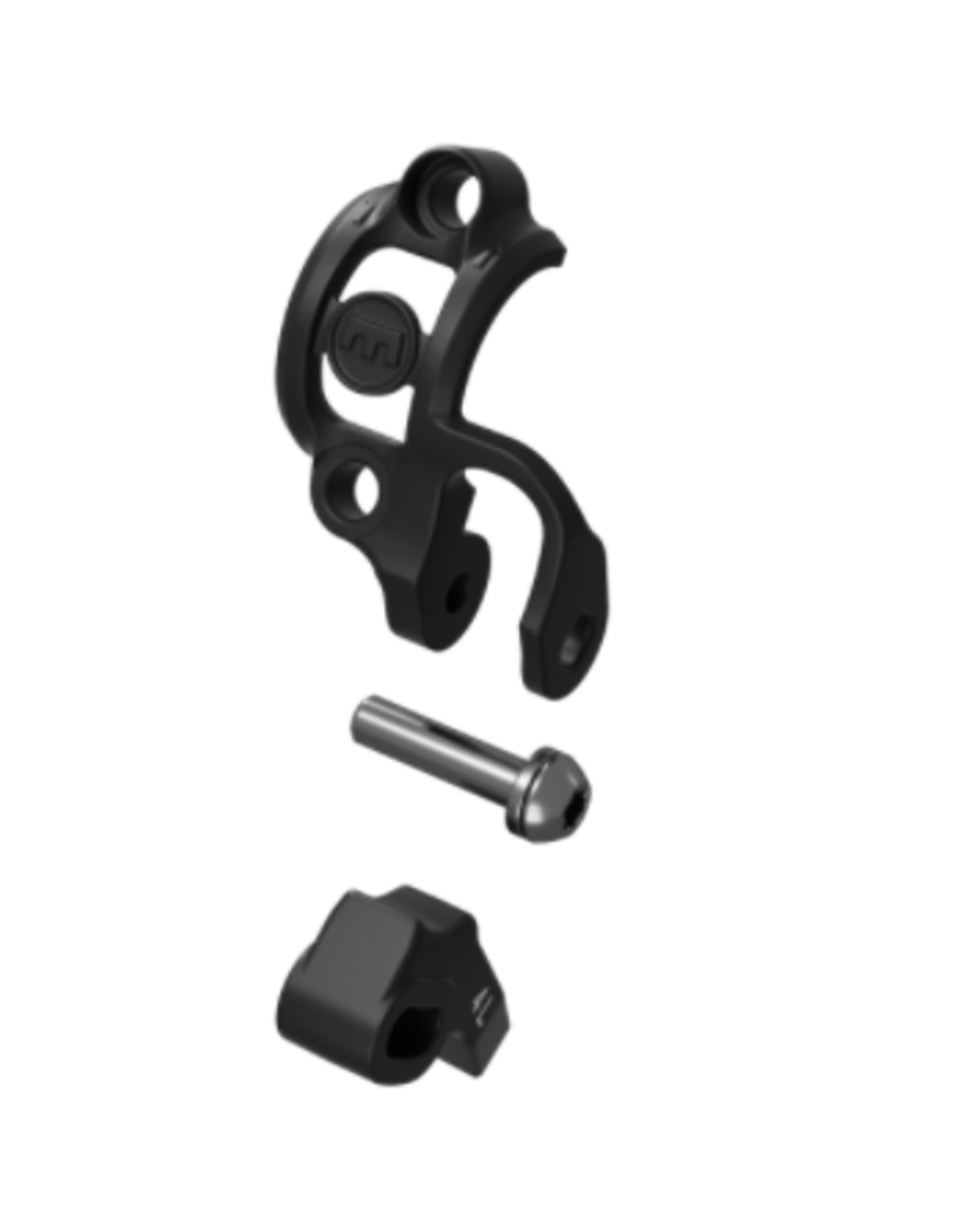Magura Magura Handlebar clamp Shiftmix 4, left, for Shimano I-Spec EV, black (PU = 1 piece)