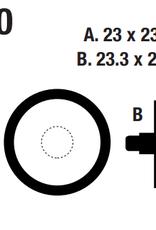 EBC EBC Disc Brake Pads - FA290 Organic (Formula)