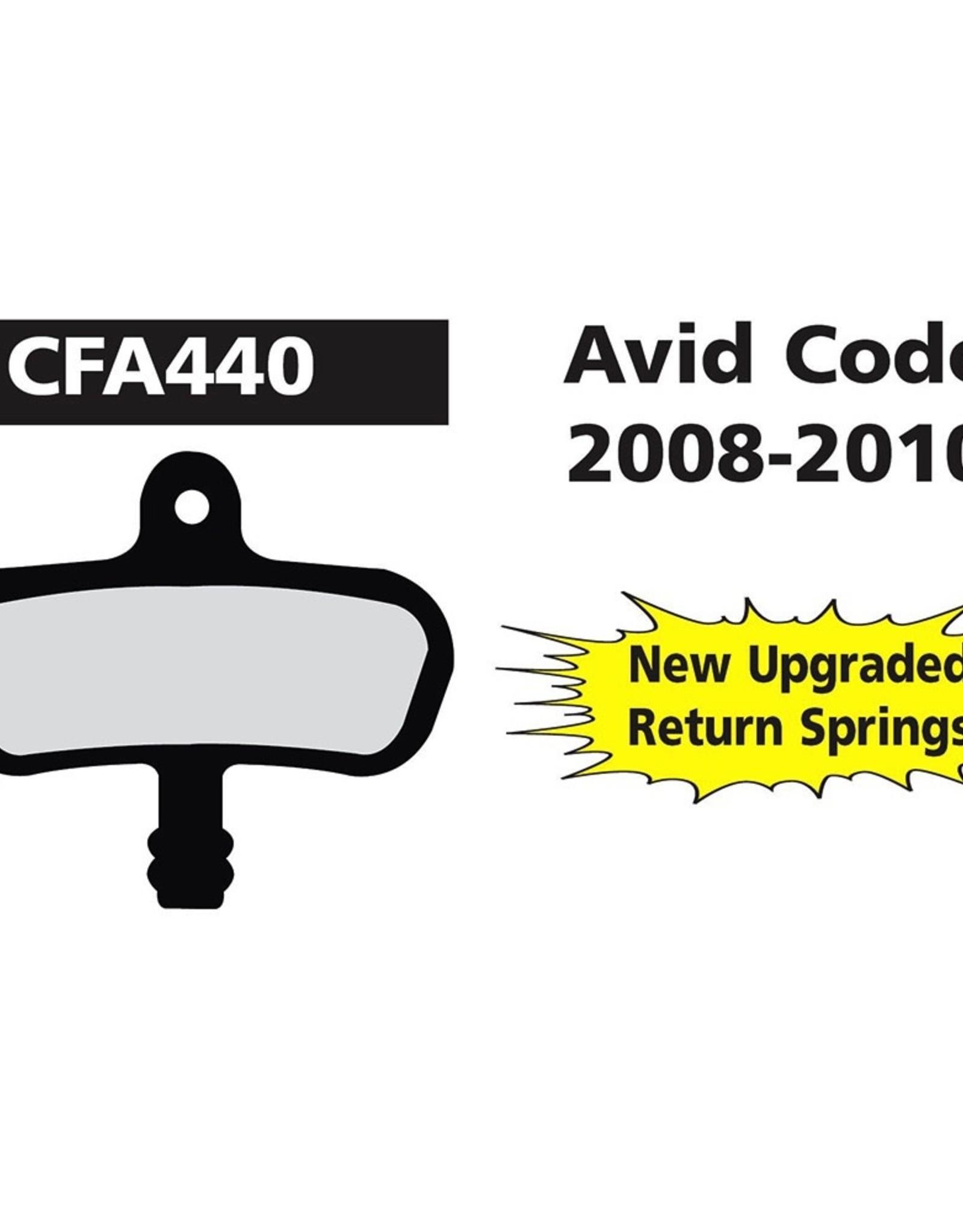 EBC EBC Disc Brake Pads - FA440 Organic (Avid)